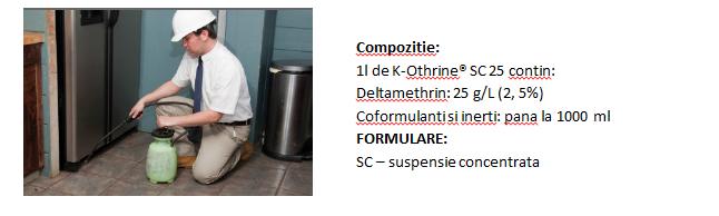 K-Othrine SC 25 Flow compozitie